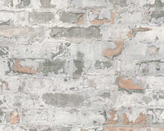 Livingwalls Wallpaper «Stone, Cottage, Black, Grey, White» 369292