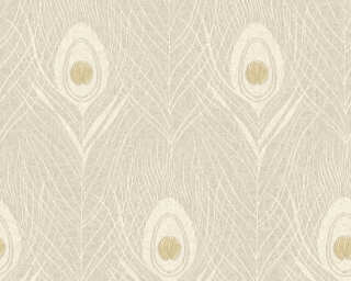 Architects Paper Wallpaper «Graphics, Beige, Gold, Grey, Metallic» 369717