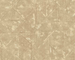 Architects Paper Wallpaper «Uni, Beige, Brown, Grey, Metallic» 369745