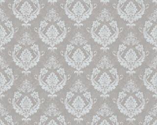 A.S. Création Tapete «Barock, Beige, Grau, Metallics, Silber» 370004