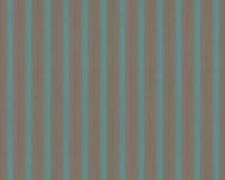A.S. Création Обои «Полосы, Бирюзовые, Зеленые, Коричневыe, Синие» 370013