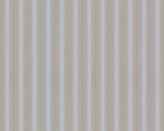 A.S. Création Wallpaper «Stripes, Beige, Grey, Taupe» 370014