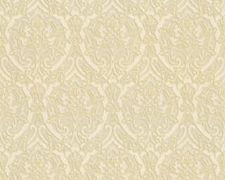 A.S. Création Wallpaper «Baroque, 3D, Beige, Cream, Gold, Metallic» 370023