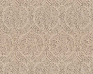 A.S. Création Wallpaper «Baroque, 3D, Beige, Brown, Gold, Metallic» 370025