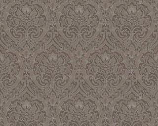 A.S. Création Обои «Барокко, 3D, Коричневыe, Металлик, Серебро» 370026