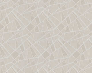 A.S. Création Wallpaper «Graphics, Grey, Metallic, Silver» 370031