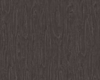 Versace Home Wallpaper «Wood, Black, Grey» 370524