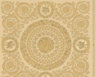 Versace Home Wallpaper «Baroque, Gold, Metallic, Yellow» 370554