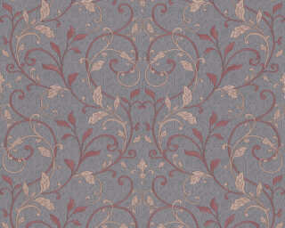 A.S. Création Wallpaper «Floral, Grey, Purple» 370571