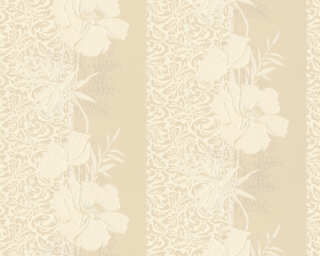 A.S. Création Wallpaper «Baroque, Floral, Beige, Cream» 370709