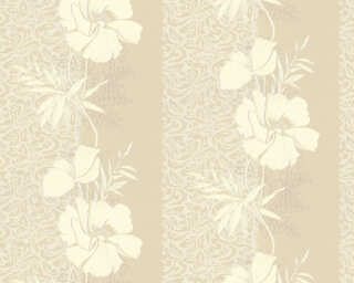 A.S. Création Wallpaper «Baroque, Floral, Beige, Cream» 370716