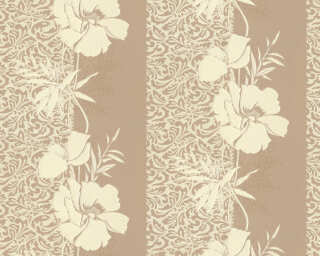 A.S. Création Wallpaper «Baroque, Floral, Beige, Yellow» 370723
