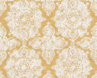 A.S. Création Wallpaper «Baroque, Gold, Metallic, White» 370901