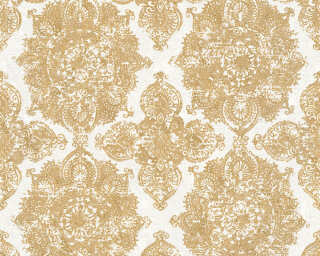 A.S. Création Wallpaper «Baroque, Gold, Metallic, White» 370902