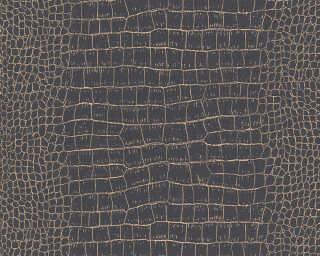 A.S. Création Wallpaper «Graphics, Black, Gold, Metallic» 371003