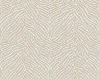 A.S. Création Wallpaper «Graphics, Beige, White» 371202