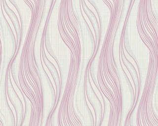 A.S. Création Обои «Полосы, Белые, Металлик, Серебро, Серыe» 371409