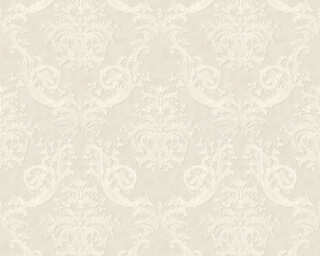 A.S. Création Wallpaper «Baroque, Grey, White» 371632