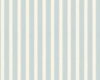 A.S. Création Wallpaper «Stripes, Beige, Blue» 371664
