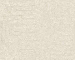 A.S. Création papier peint «Graphique, blanc» 371712