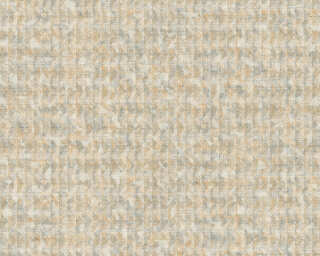 A.S. Création Wallpaper «Graphics, Floral, Beige, Blue, Gold, Grey» 371734