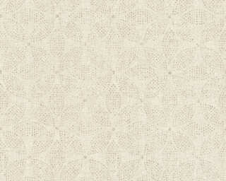A.S. Création Wallpaper «Graphics, Floral, Cream, Gold, Metallic» 371766