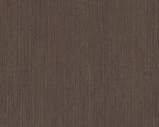 A.S. Création papier peint «Uni, marron, noir» 371793