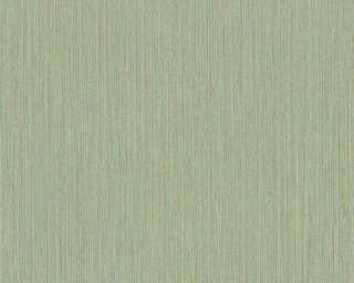 A.S. Création Wallpaper «Uni, Brown, Green, Yellow» 371794