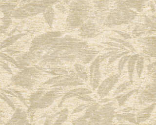A.S. Création Wallpaper «Floral, Beige, Copper, Cream, Metallic» 372191