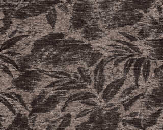 A.S. Création Wallpaper «Floral, Black, Brown» 372192