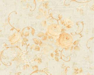 A.S. Création Tapete «Blumen, Beige, Creme, Gold, Metallics» 372243