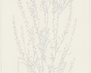 A.S. Création Wallpaper «Floral, Grey, Metallic, Pink, Silver» 372671