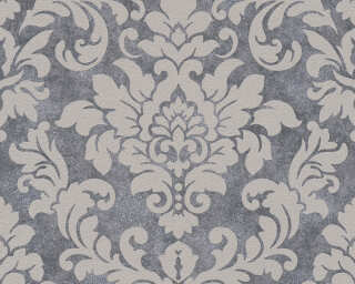 A.S. Création Wallpaper «Baroque, Beige, Grey, Metallic, Taupe» 372701