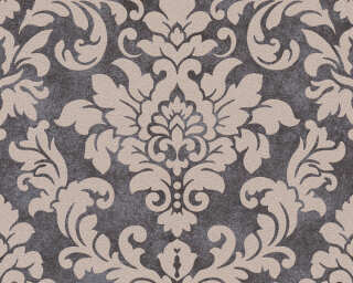 A.S. Création Wallpaper «Baroque, Beige, Black, Metallic» 372704