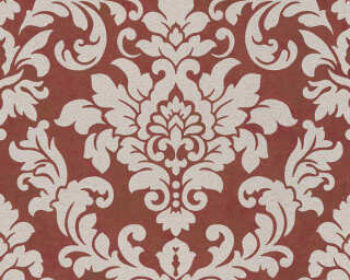 A.S. Création Wallpaper «Baroque, Beige, Metallic, Red» 372705