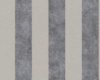 A.S. Création papier peint «Rayures, beige, gris, noir, taupe» 372711
