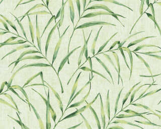 A.S. Création Wallpaper «Floral, Green» 373353