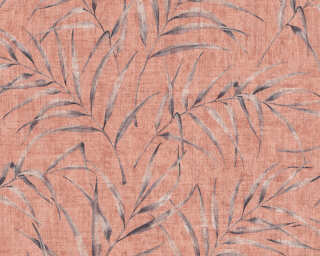 A.S. Création Wallpaper «Floral, Orange, Pink, Red» 373354