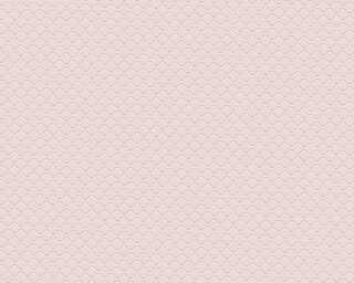A.S. Création papier peint «Uni, rose» 373642