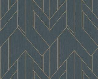 Architects Paper флизелин «Графика, Металлик, Черные» 373691