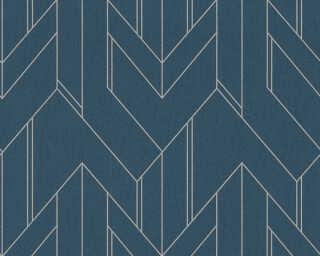 Architects Paper флизелин «Графика, Металлик, Синие» 373695