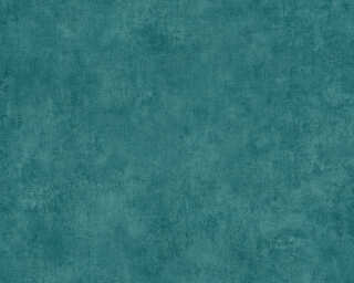 A.S. Création Wallpaper «Uni, Blue, Green, Turquoise» 373709