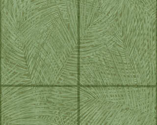 A.S. Création Wallpaper «Tile, Green» 373721