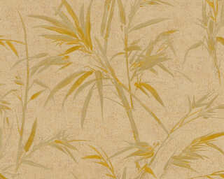 A.S. Création Wallpaper «Floral, Brown, Gold, Metallic» 373767