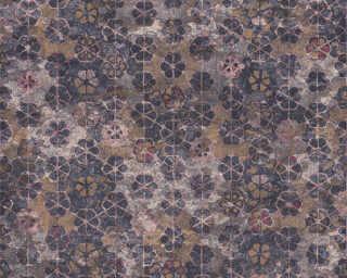 Livingwalls papier peint «Graphique, beige, crème, marron, or» 373914