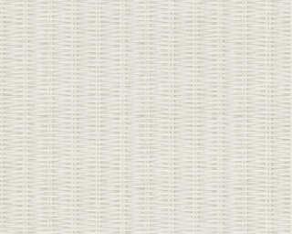Livingwalls Tapete «Holz, Landhaus, Grau, Weiß» 373931