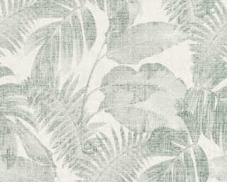 Livingwalls Wallpaper «Jungle, Beige, Cream, Green» 373964