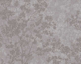 Livingwalls Wallpaper «Floral, Beige, Brown, Grey, Taupe» 373971