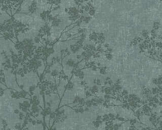 Livingwalls Wallpaper «Floral, Green» 373973