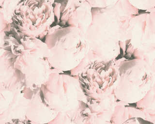 A.S. Création Wallpaper «Flowers, Cream, Pink» 373982